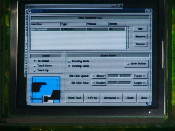 touchcfg yapılandırma yardımcı programı