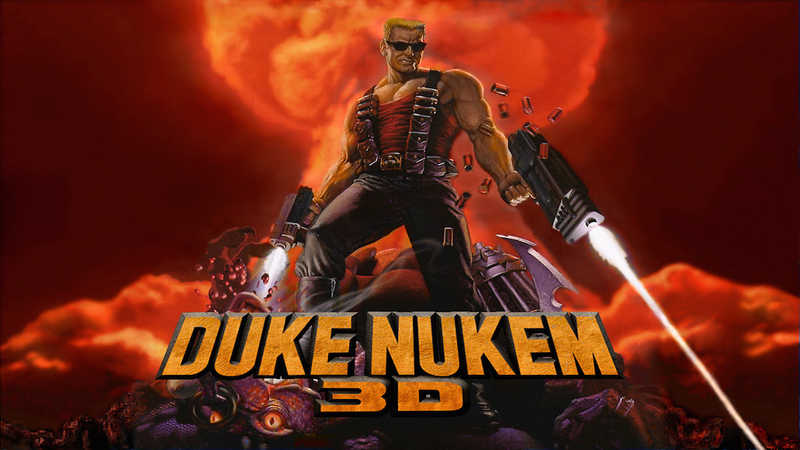 Duke nukem and backgrounds